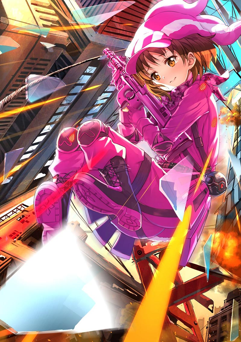 the pink devil LLENN