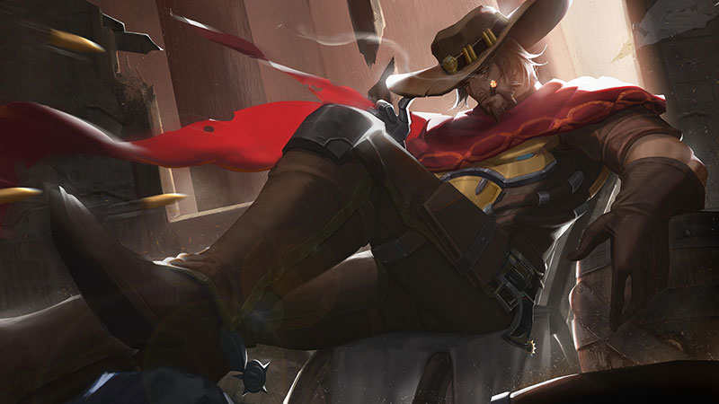 Jesse McCree overwatch