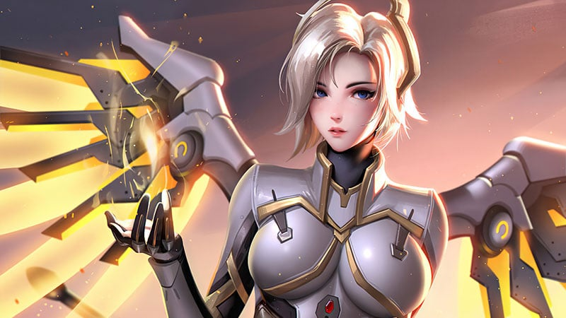 Mercy game overwatch