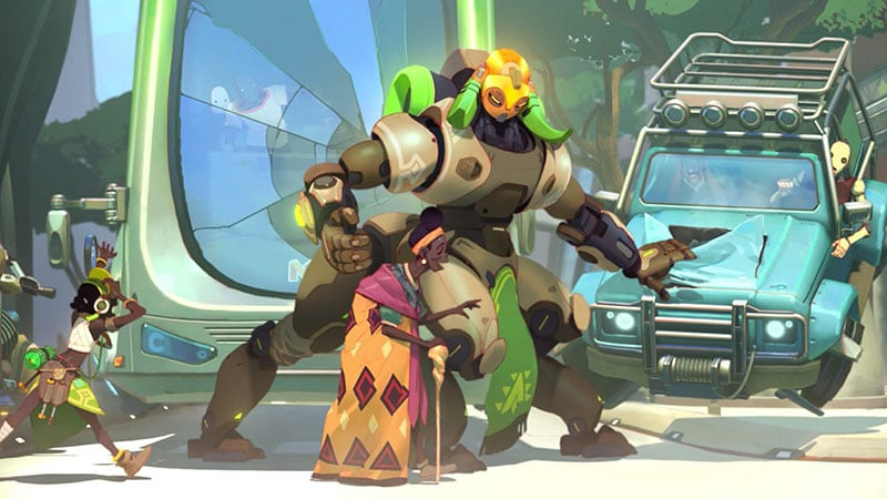 Orisa game overwatch