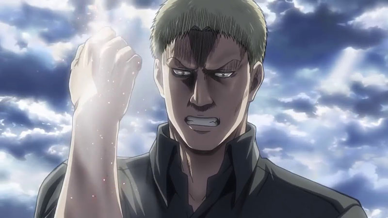 Reiner - Attack on titan