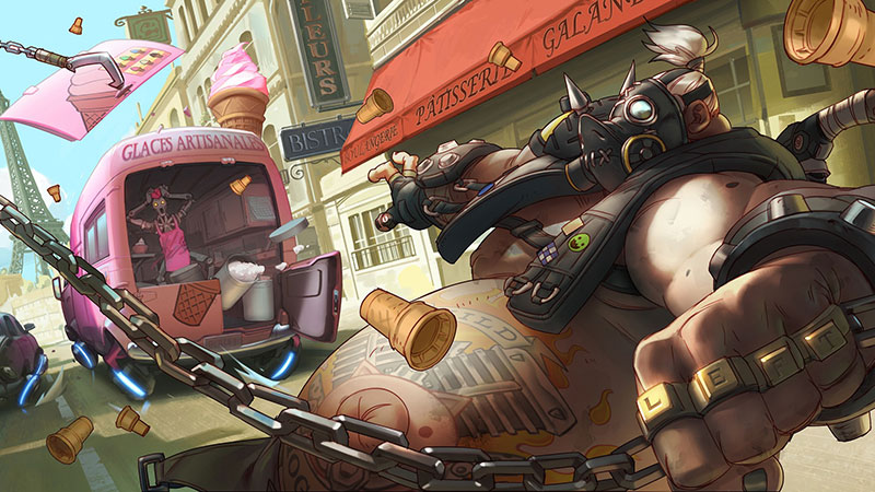 Roadhog (Mako Rutledge) overwatch