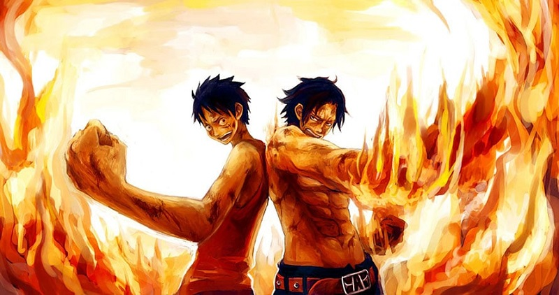 Monkey D.Luffy - Ace